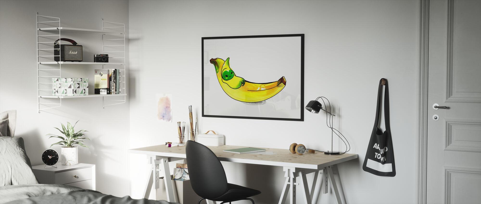 Banane - Poster - Kinderzimmer