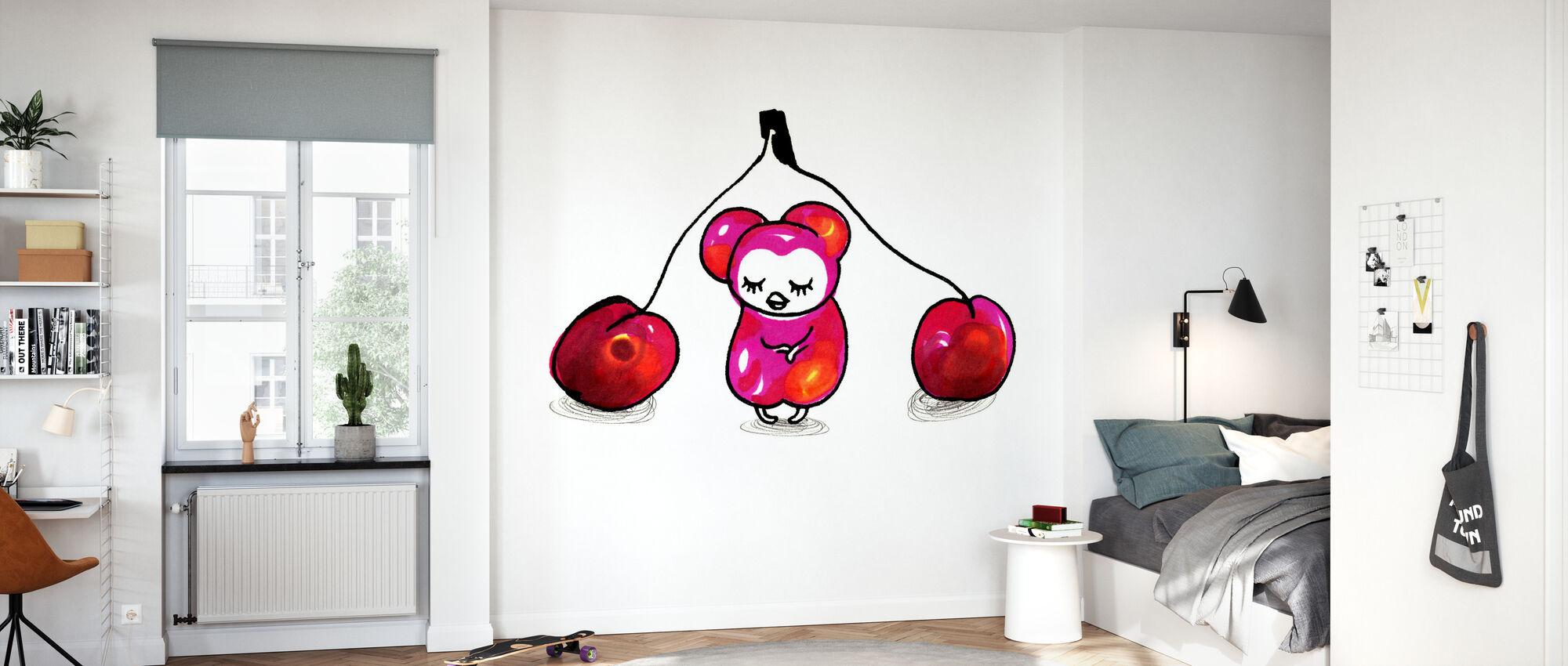 Cherries - Wallpaper - Kids Room