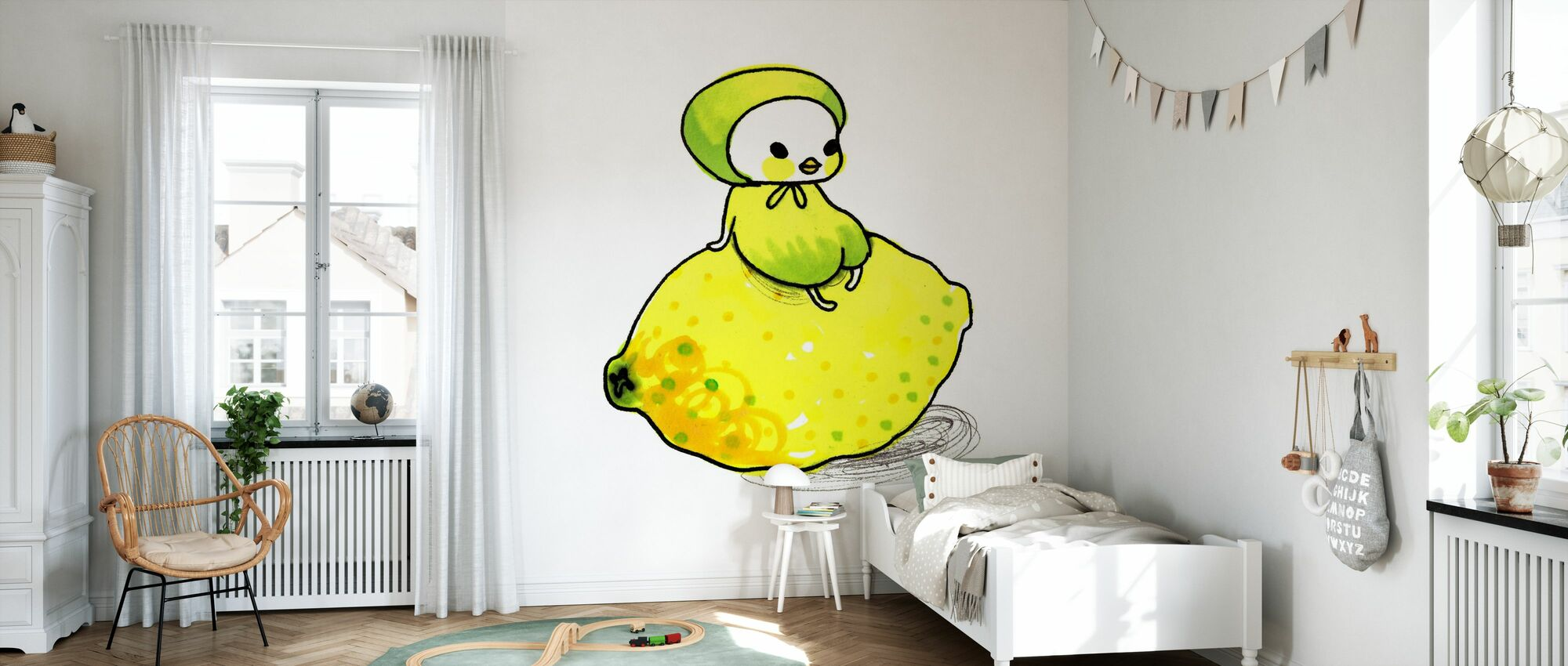 Lemon - Wallpaper - Kids Room
