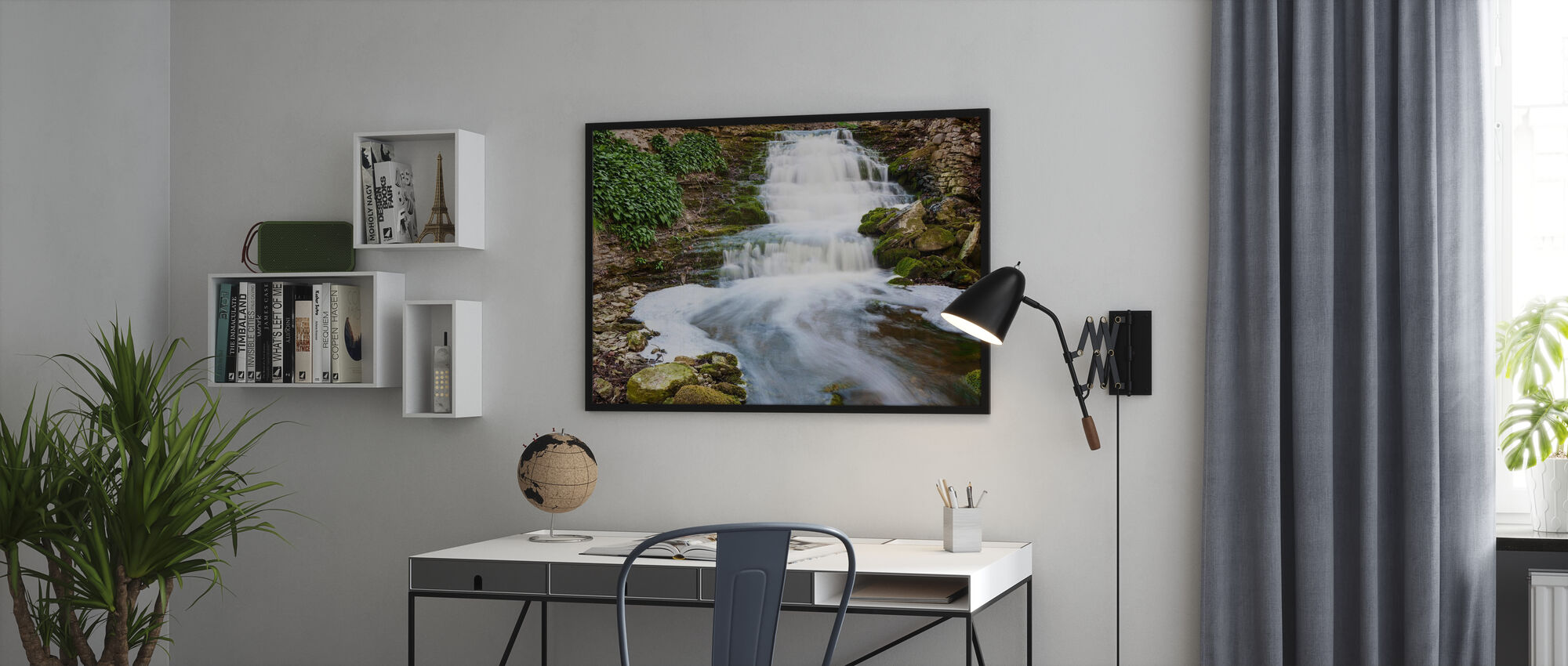 River, Gotland - Poster - Office