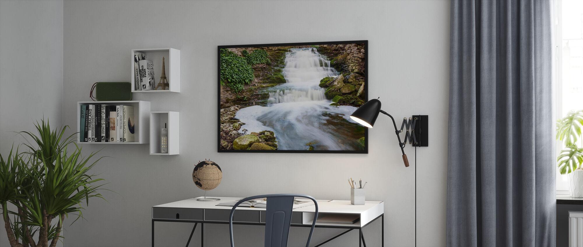 Fluss Gotland - Poster - Büro