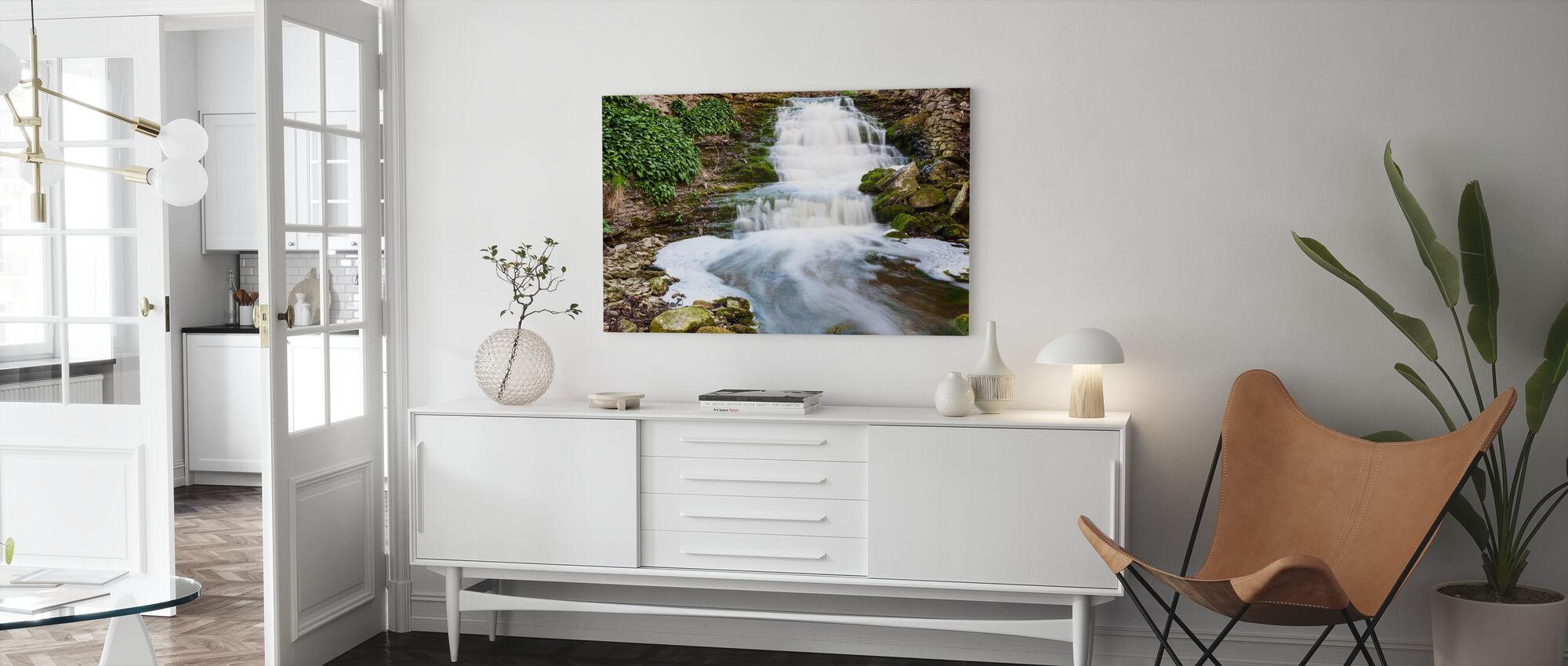 Rivier, Gotland - Canvas print - Woonkamer
