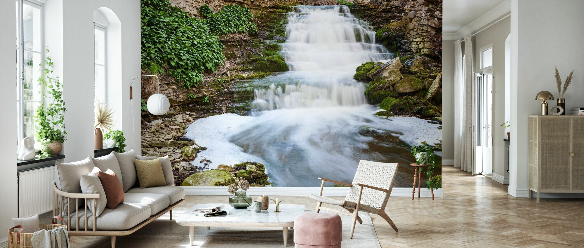 River, Gotland - Wallpaper - Living Room