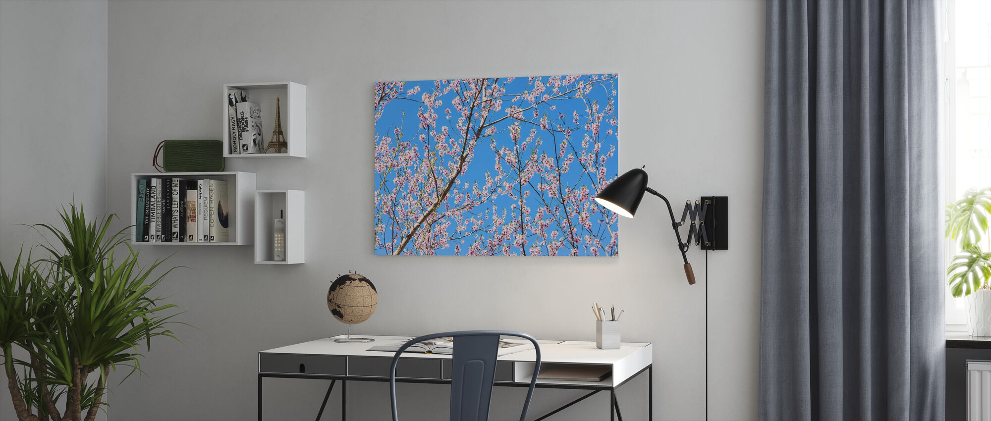 Cherry Blossom Branches - Canvas print - Office