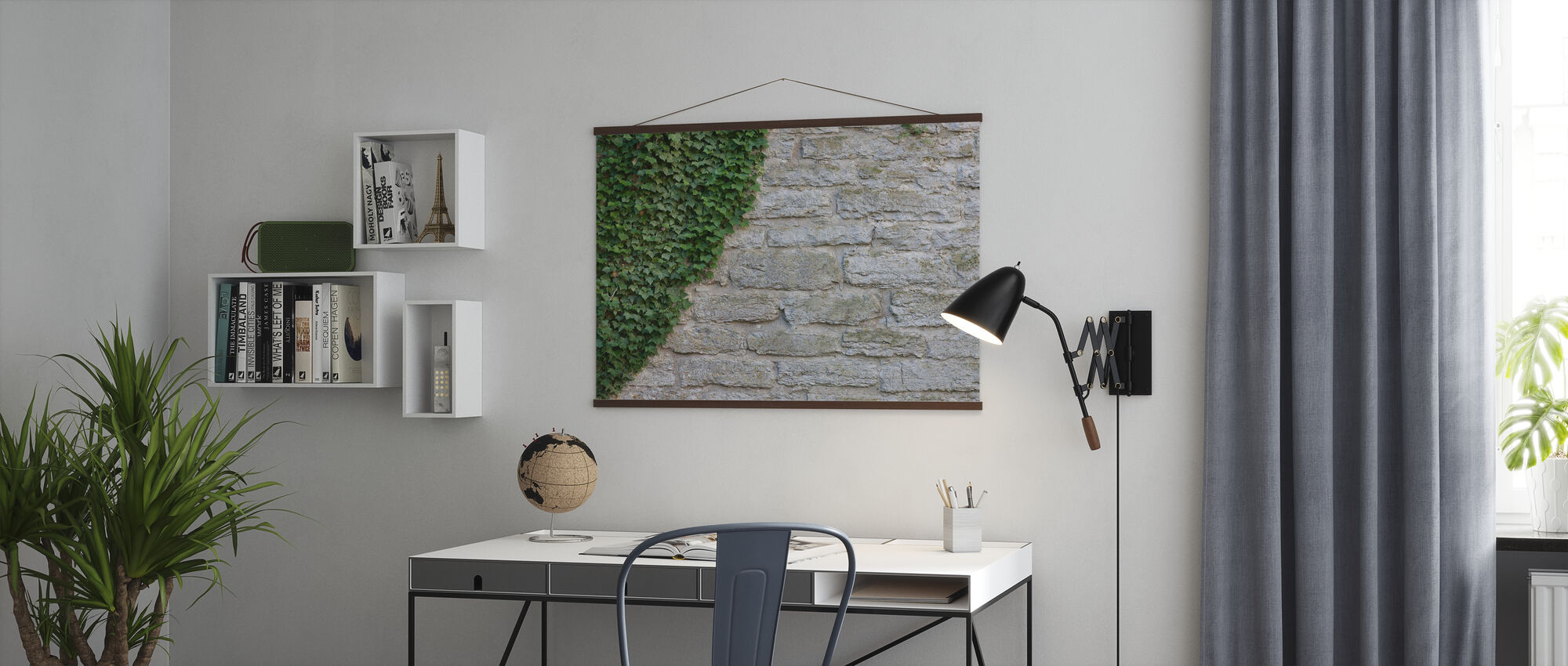 Ruin with Ivy - Poster - Office