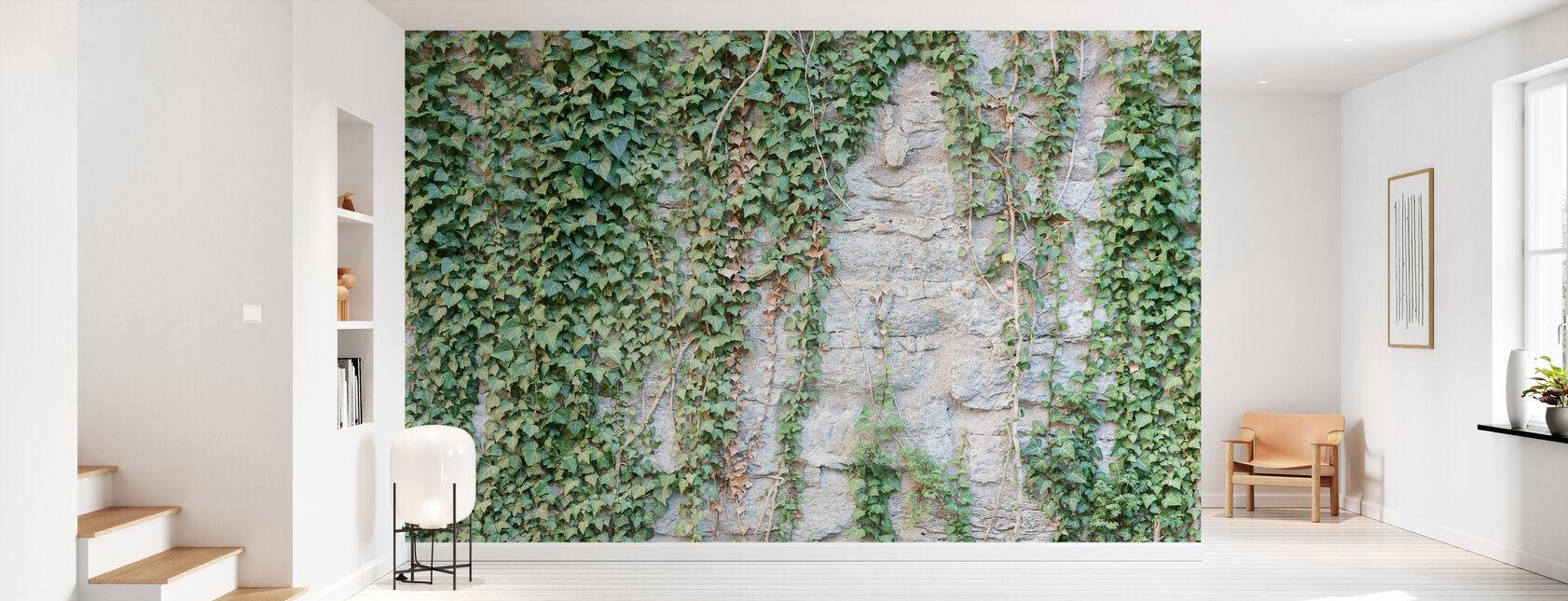 Ivy Wall - Wallpaper - Hallway