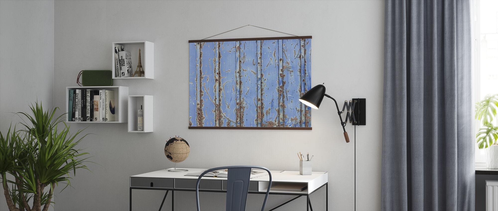 Steel Blue - Poster - Office