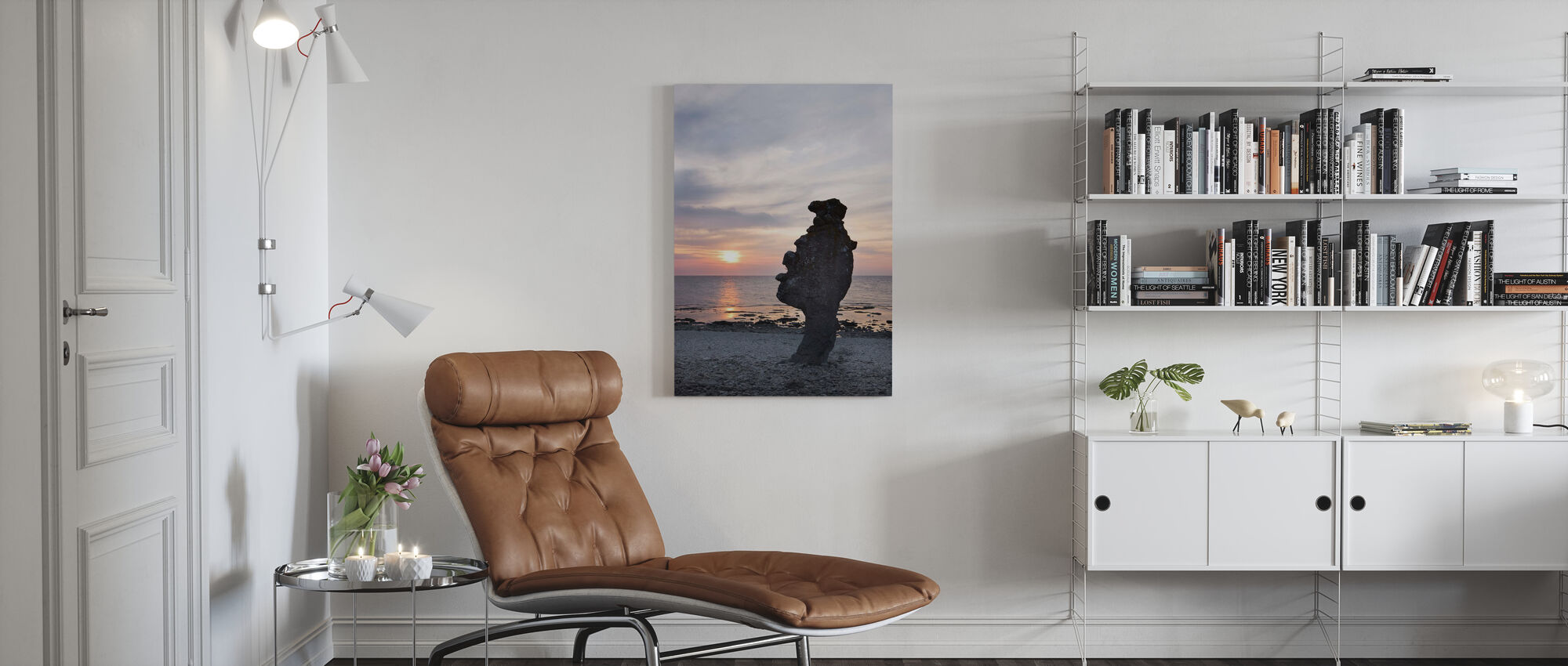 Gotland Rauk - Canvas print - Living Room