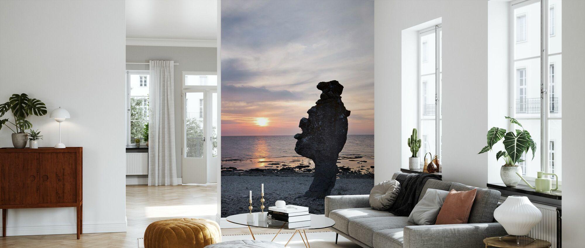 Gotland Rauk - Papel pintado - Salón