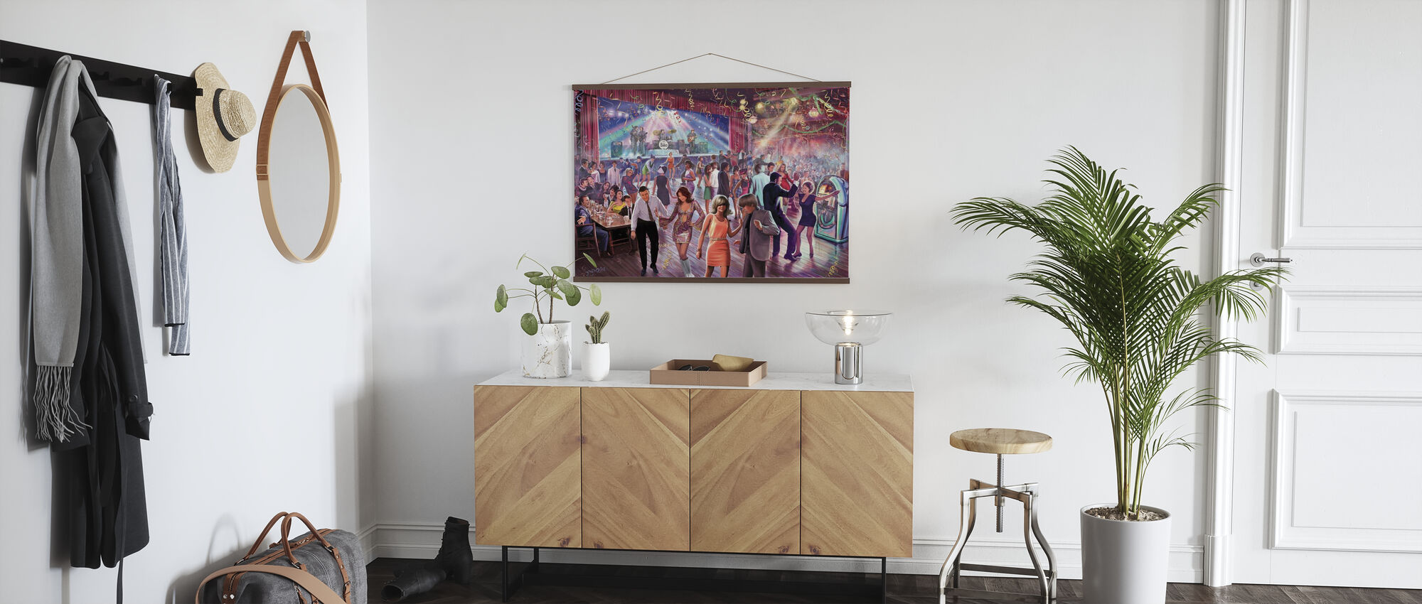 1960´s Dance Scene - Poster - Hallway