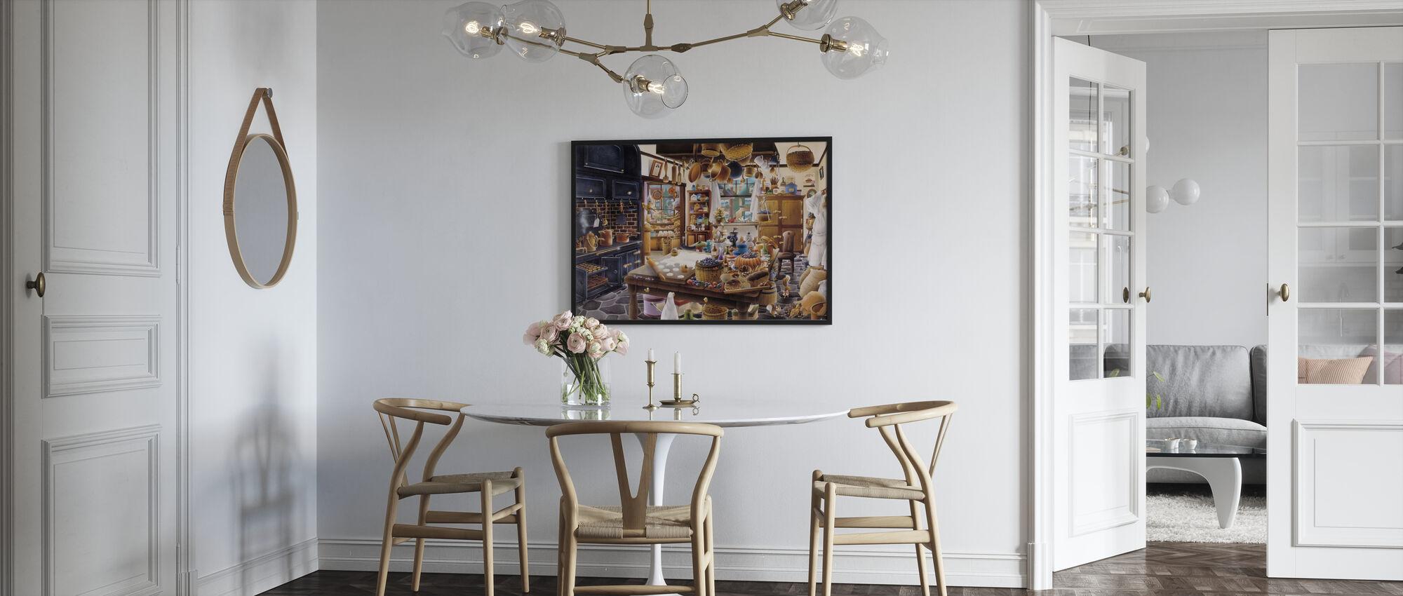 The Bakery - Framed print - Kitchen