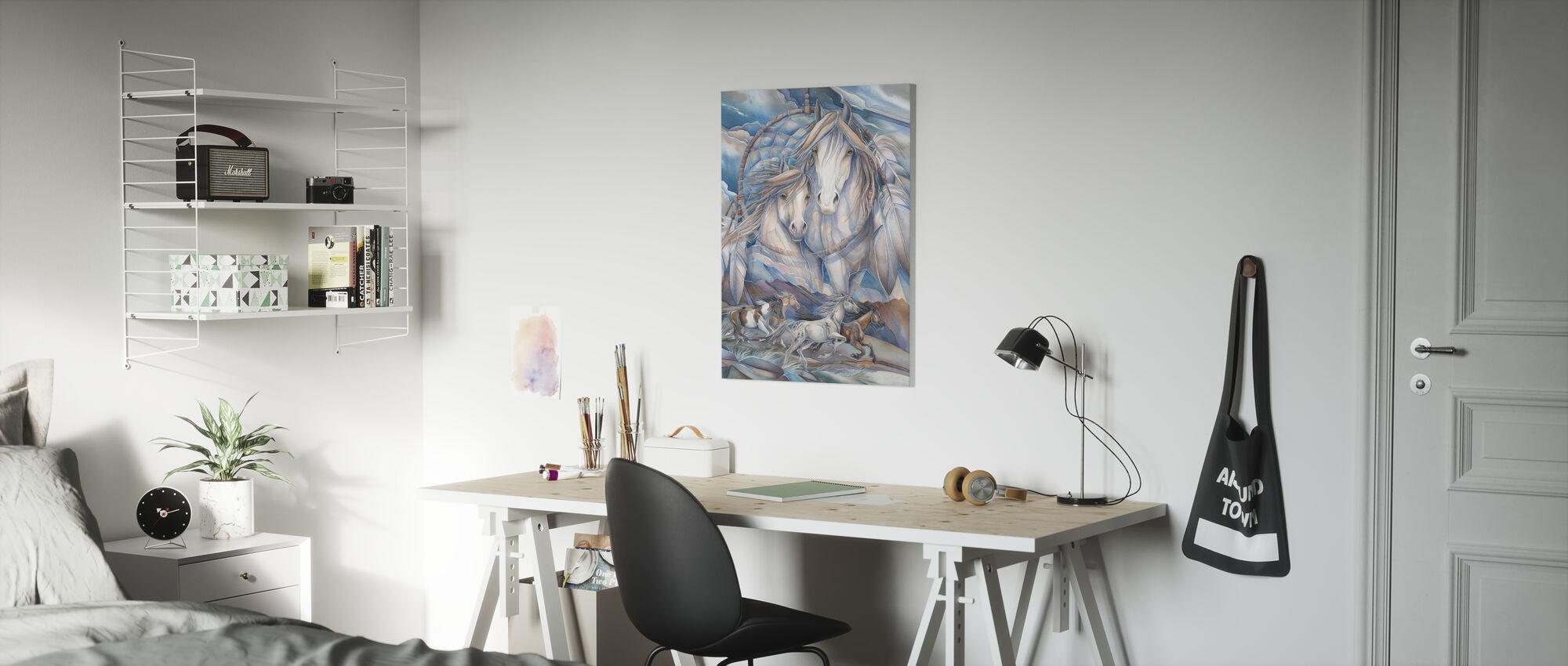 Sprookjesland - Canvas print - Kinderkamer