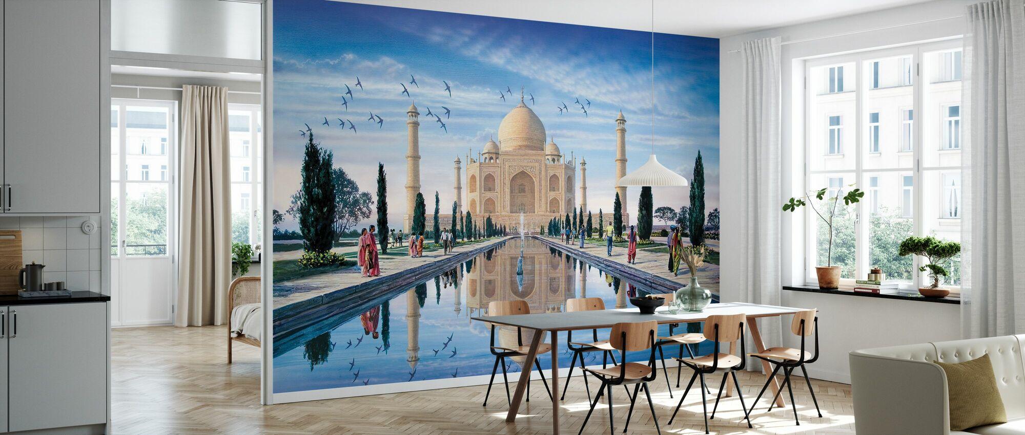 Taj Mahal - Wallpaper - Kitchen