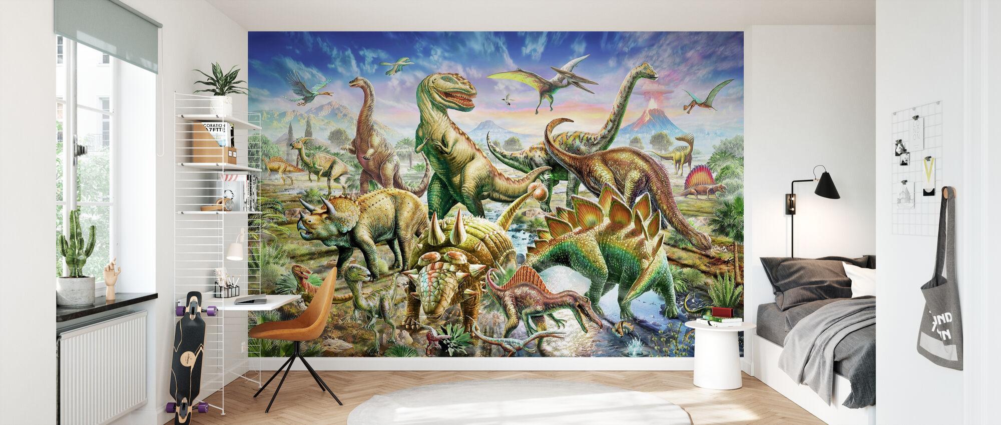 Dinoscene - Wallpaper - Kids Room