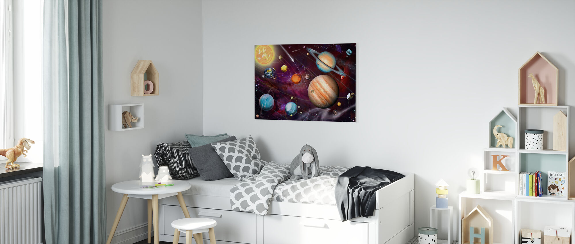 Solar System 2 - Canvas print - Kids Room