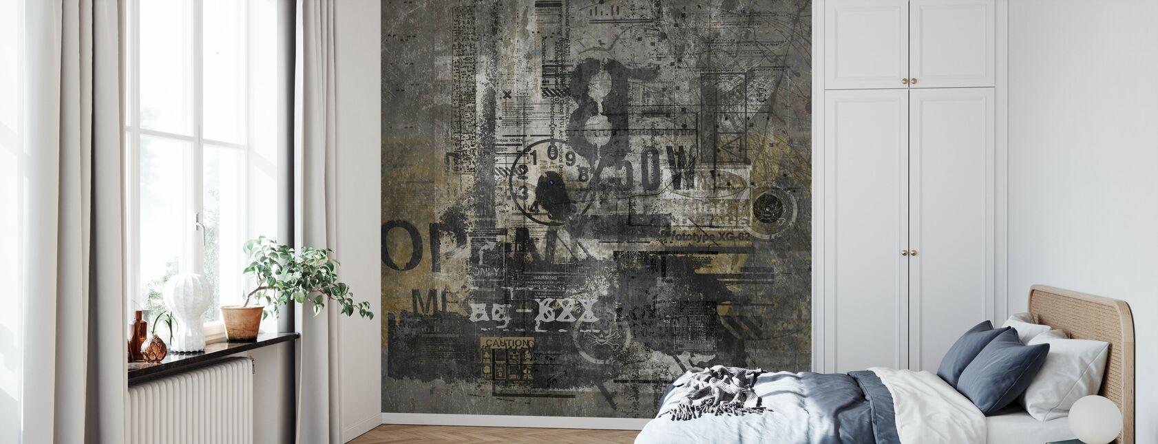 Abstract Grunge - Wallpaper - Bedroom