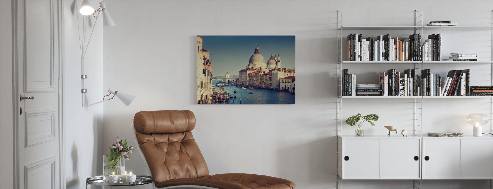 Grand Canal à Venise - Impression sur toile - Salle à manger