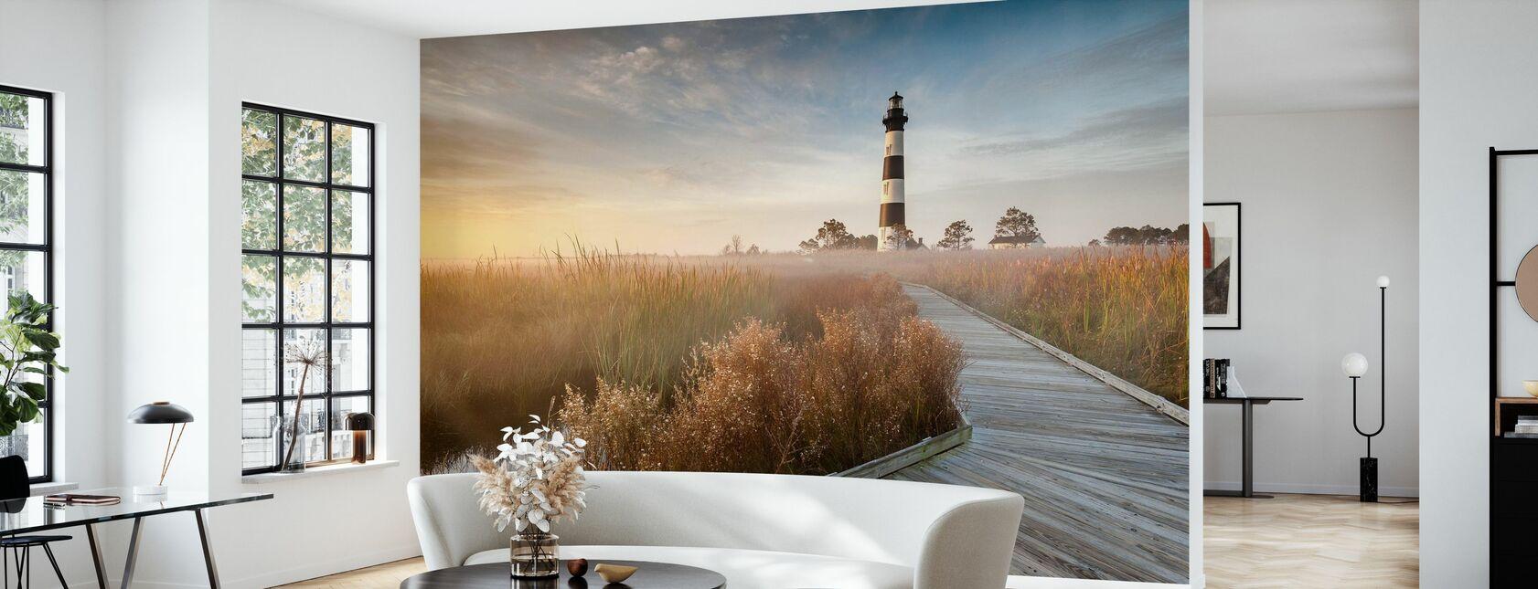 Leuchtturm in North Carolina - Tapete - Wohnzimmer