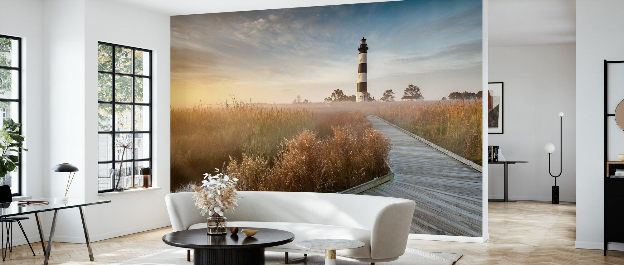 Lighthouse in North Carolina - Wallpaper - Living Room