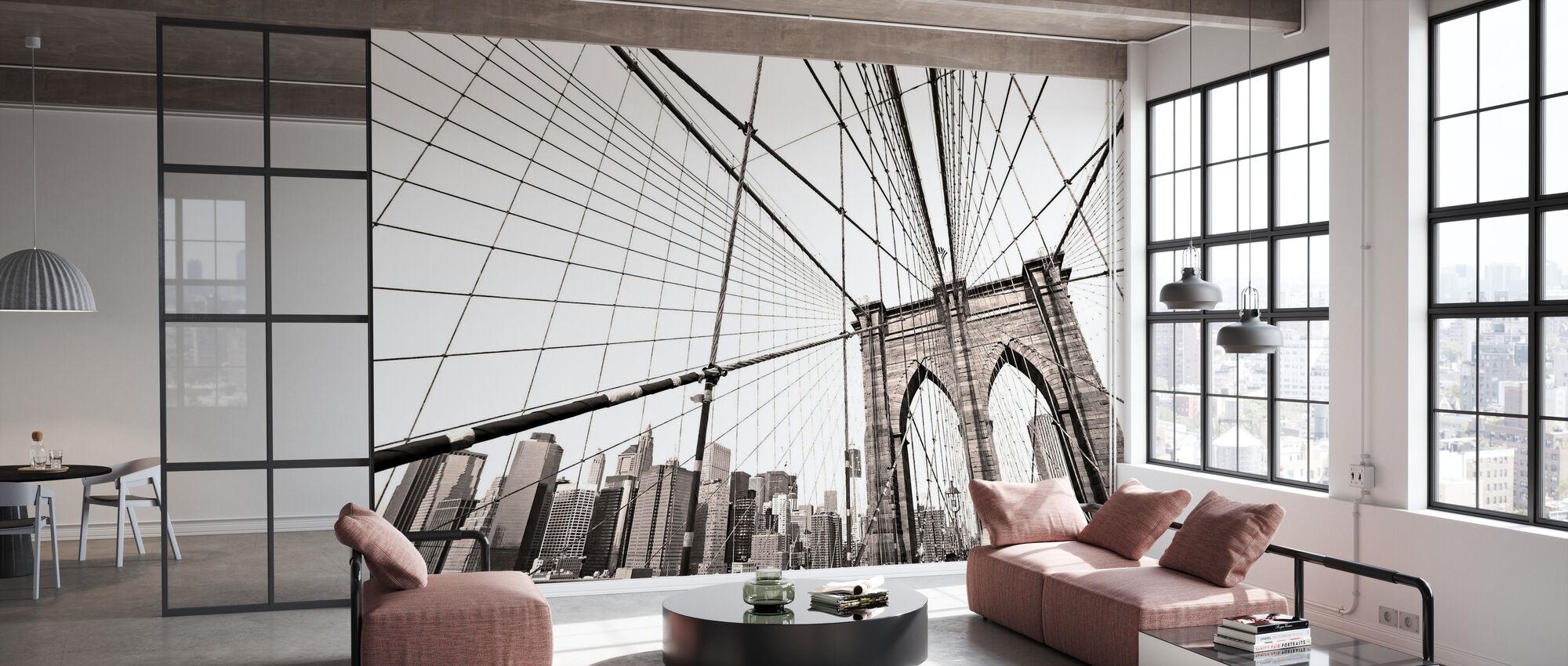 Manhattan Bridge New York - Wallpaper - Office