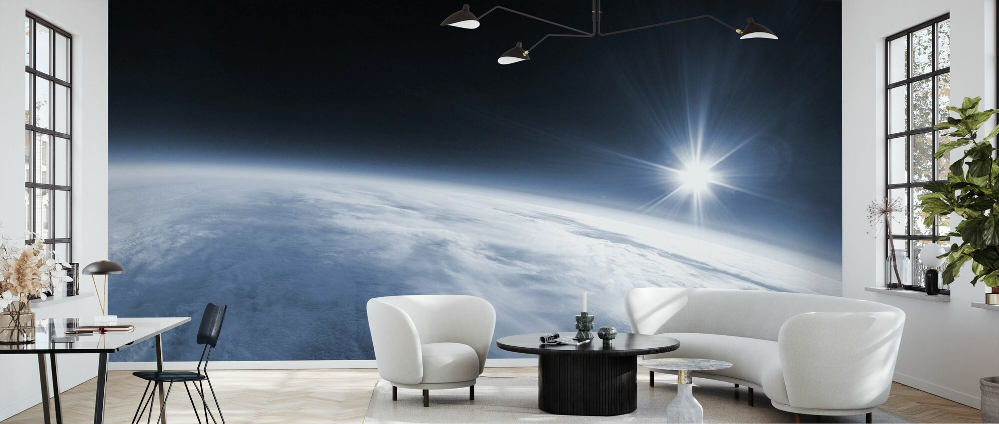 Near Space - Wallpaper - Living Room