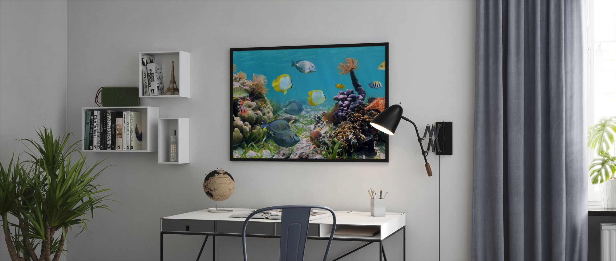 Panorama Coral Reef - Poster - Office