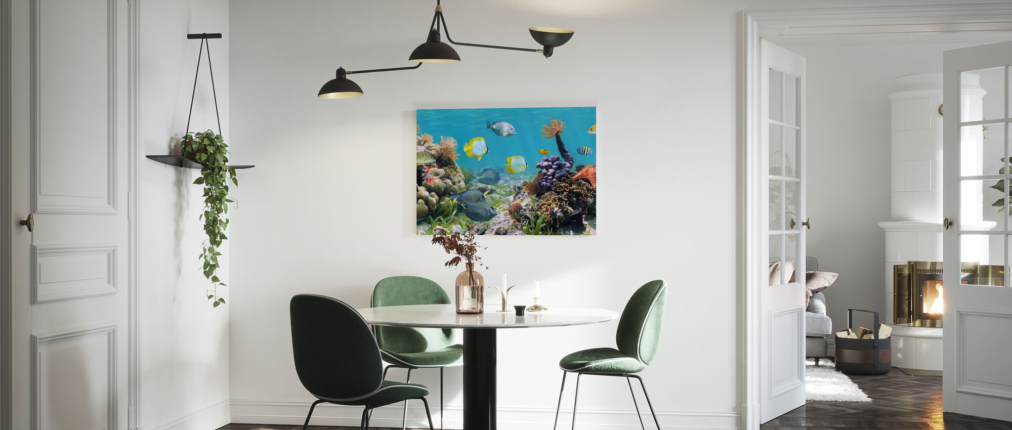 Panorama Coral Reef - Canvas print - Kitchen