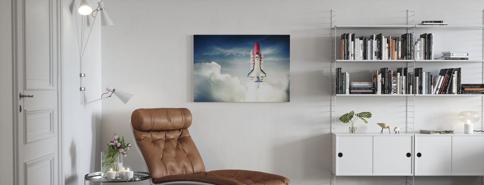 Space Shuttle - Stampa su tela - Salotto
