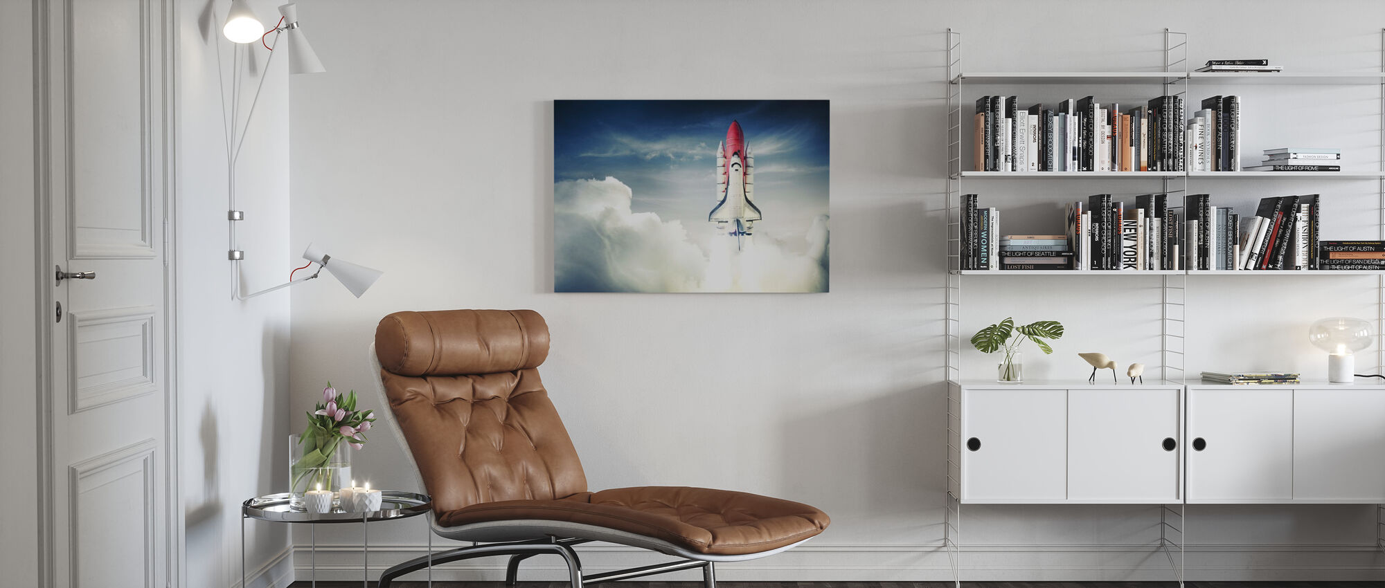 Space Shuttle - Canvas print - Living Room