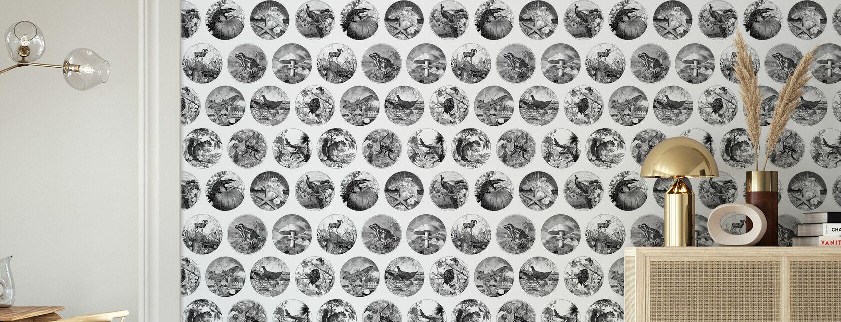 Darwin su un piatto - Carta da parati - Salotto