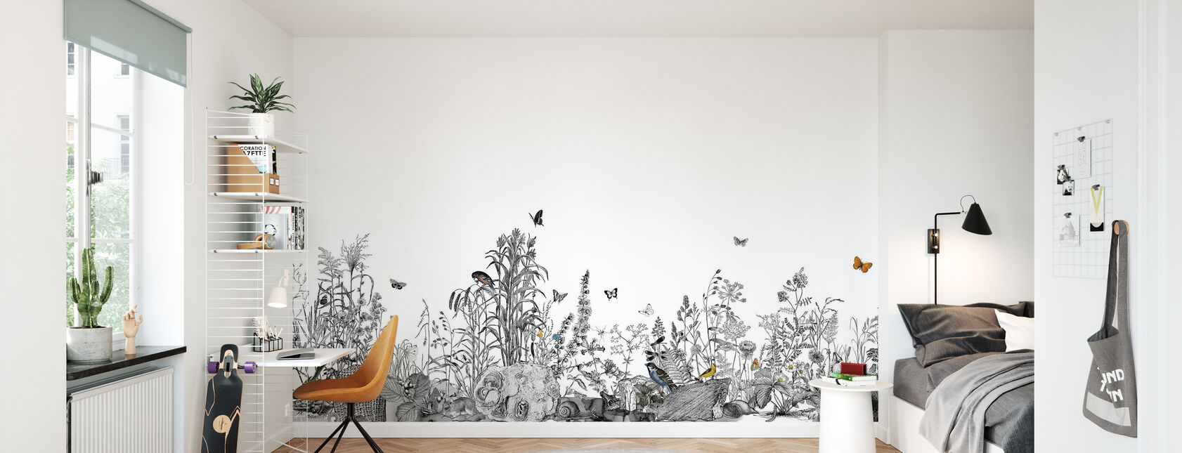 Snail Trail XL - Wallpaper - Kids Room
