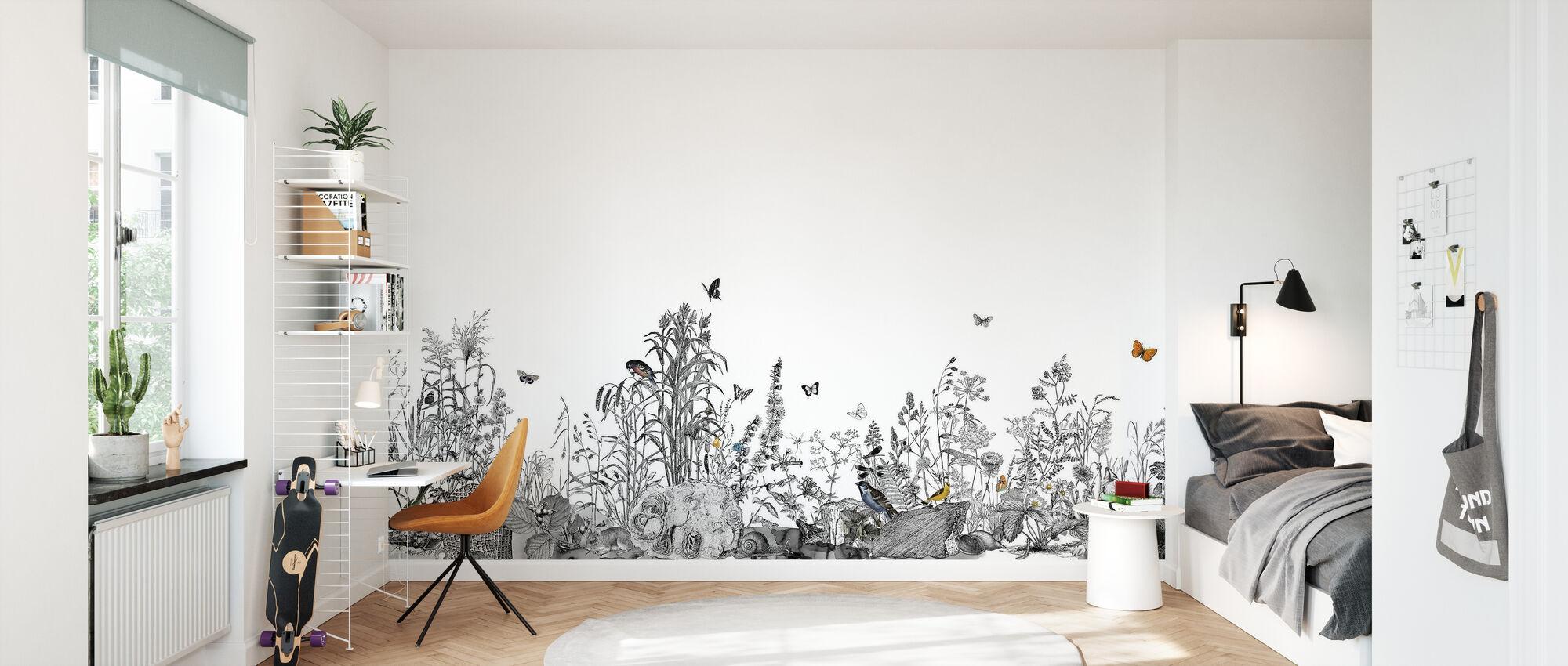 Snail Trail XL - Wallpaper - Kids Room