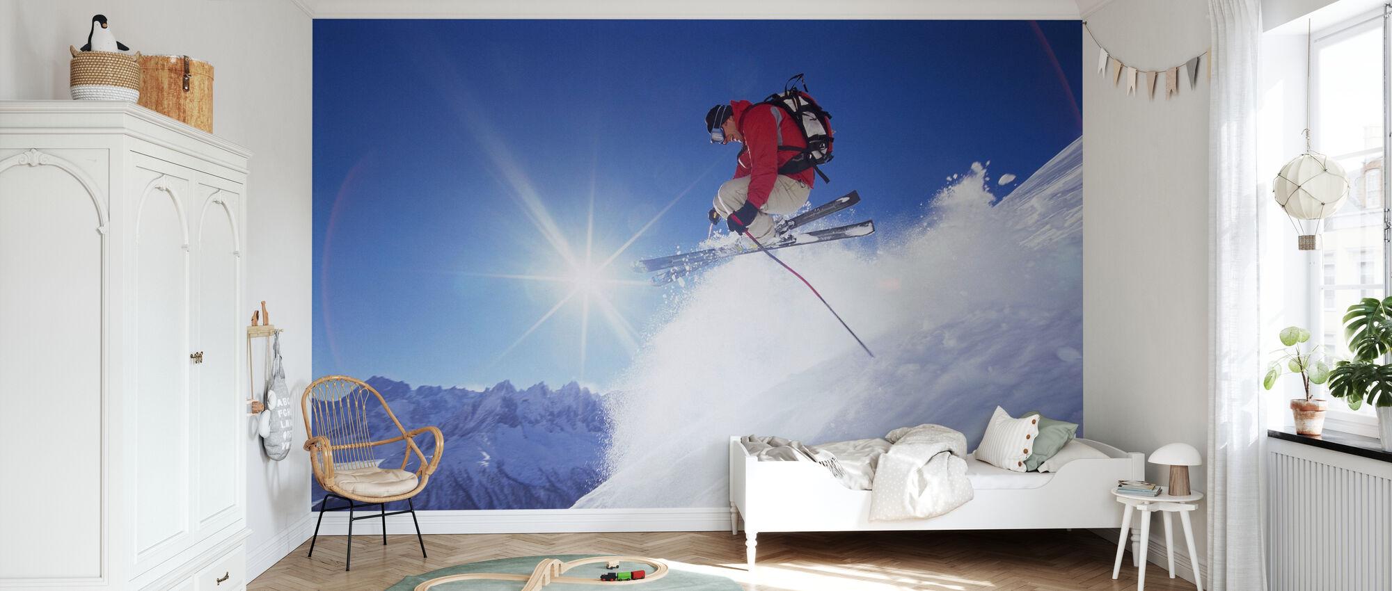 Adrenalin Skidåkning - Tapet - Barnrum