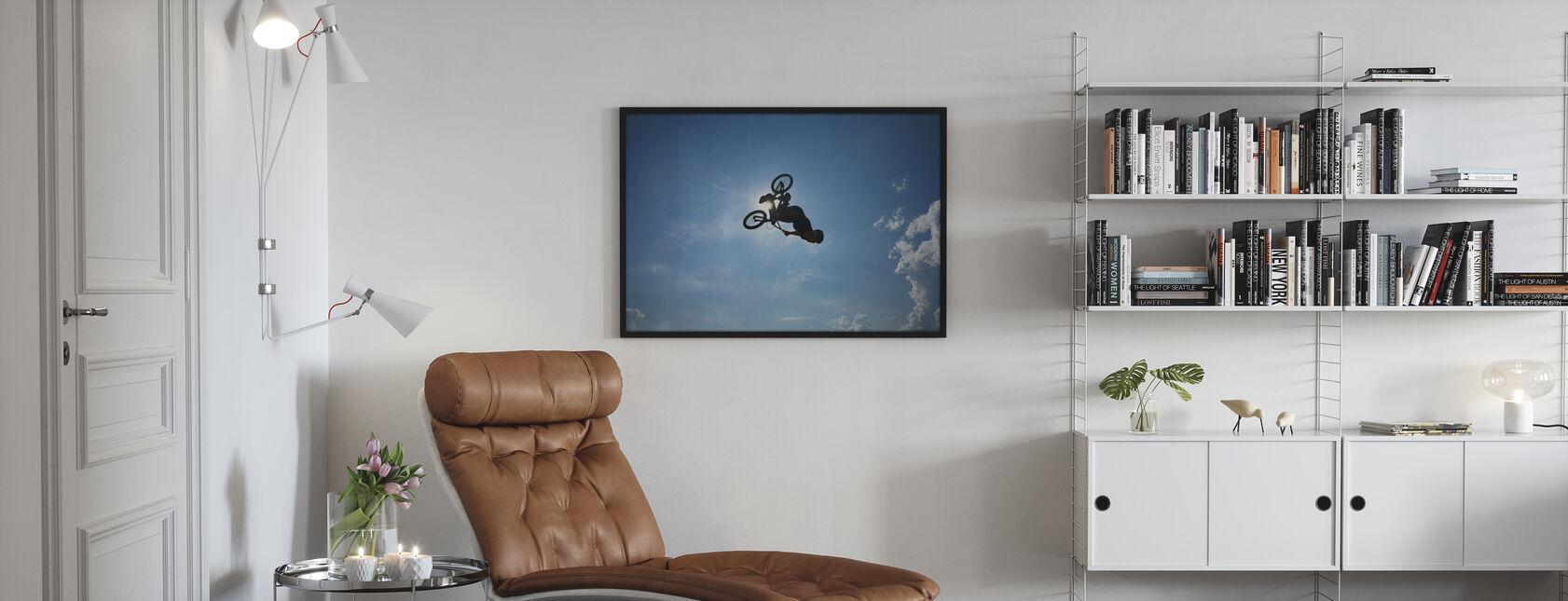BMX Backflip - Poster - Living Room
