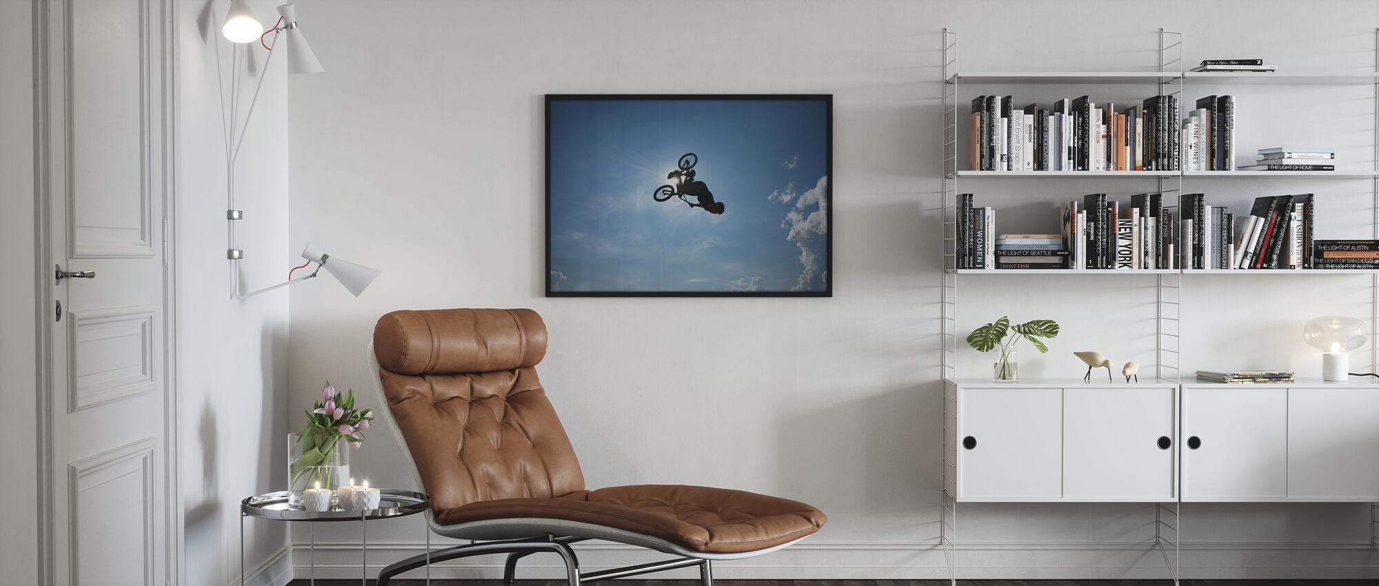 BMX Backflip - Poster - Wohnzimmer