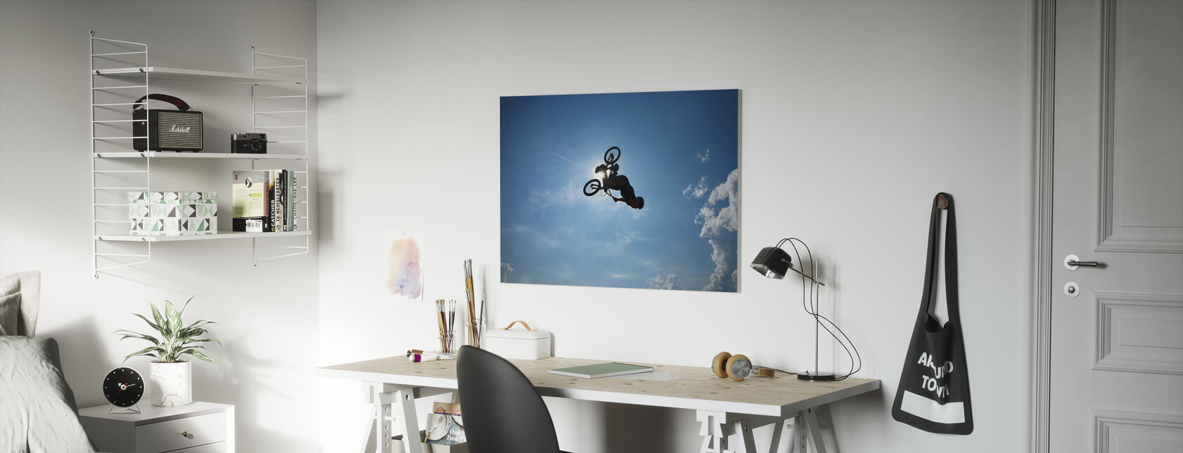 BMX Backflip - Canvas print - Kids Room