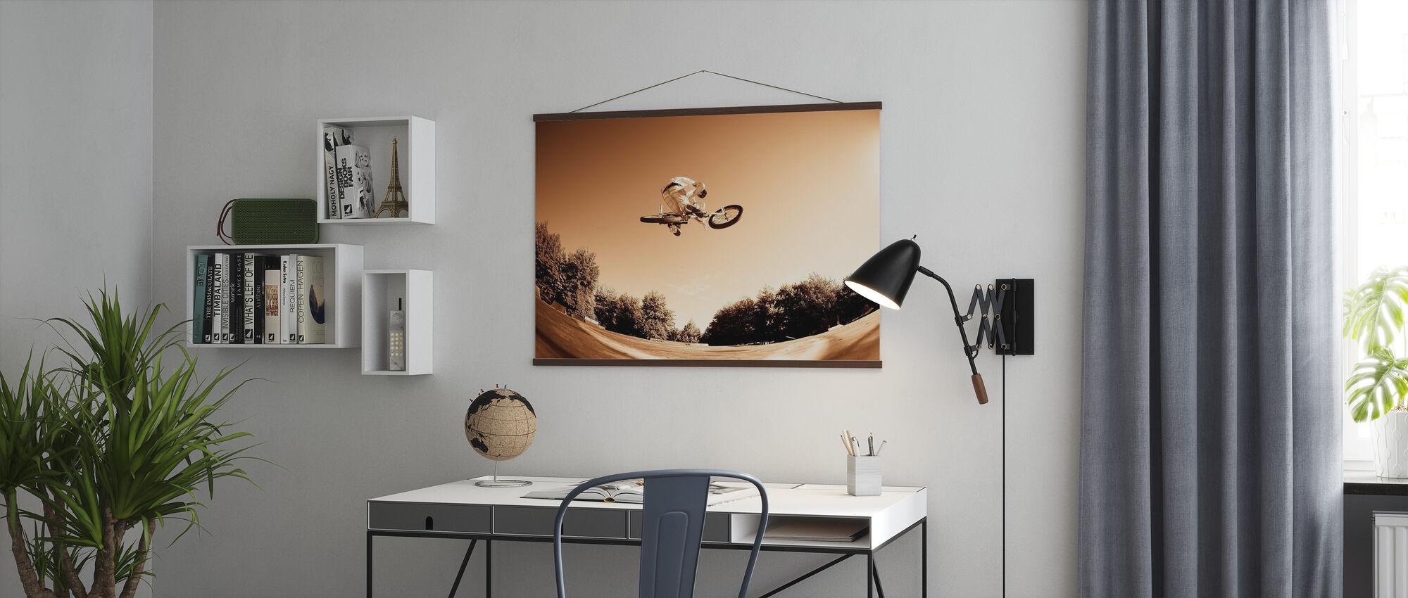 Wysoki skok BMX - Plakat - Biuro