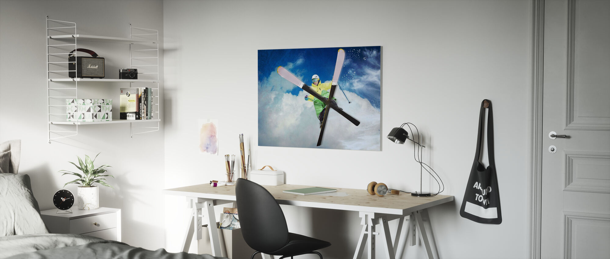 Jump - Canvas print - Kids Room