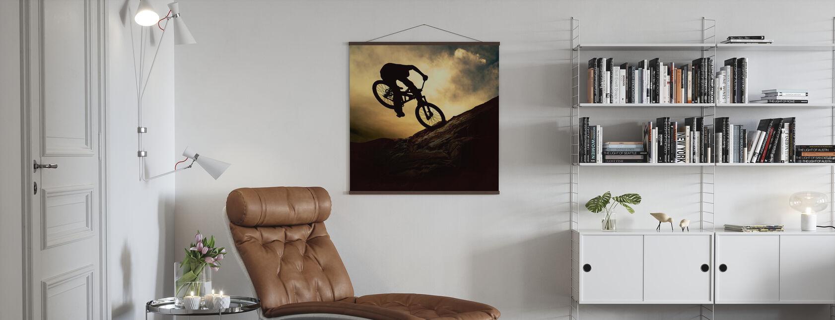 Mountain Bike Rider - Poster - Living Room