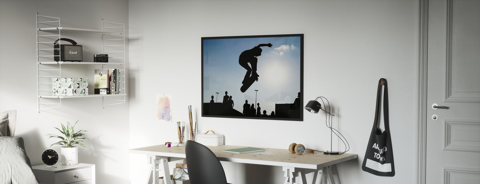 Skateboard Jump - Poster - Kids Room