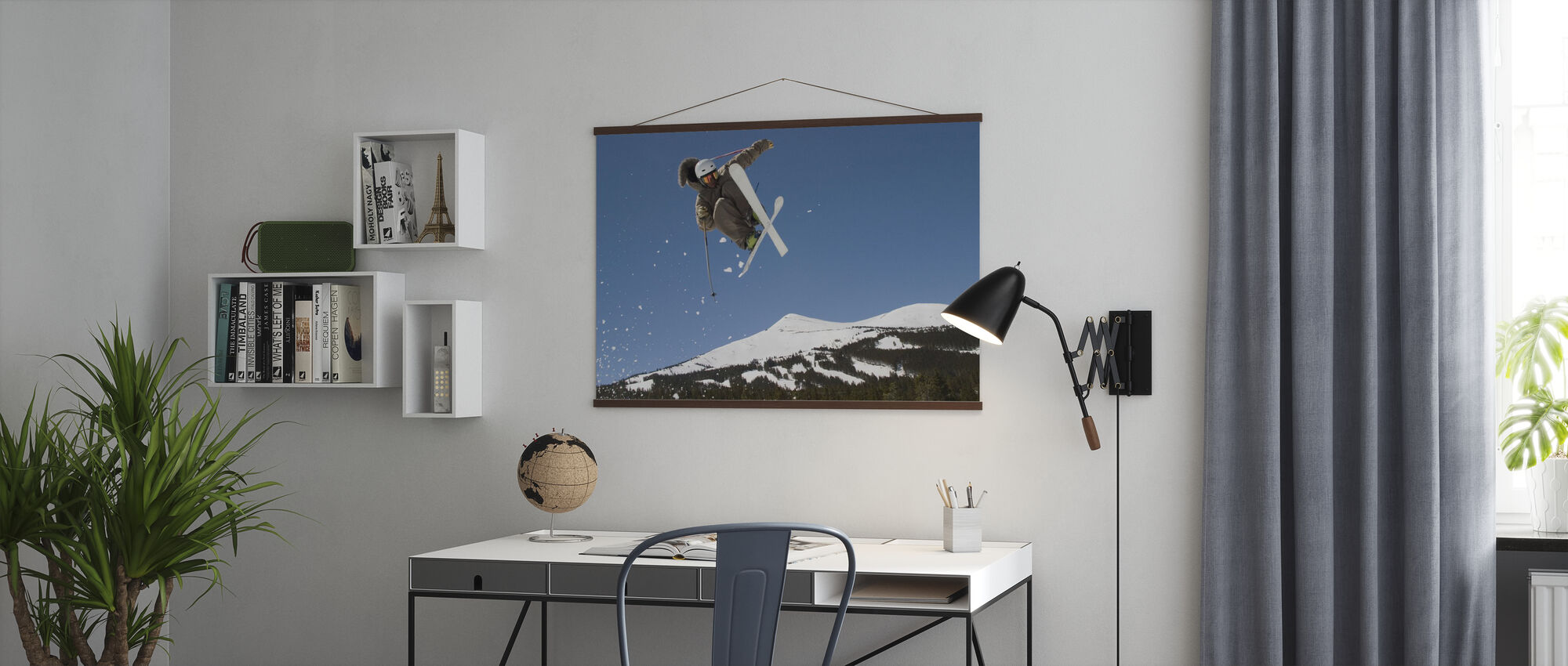 Superpipe Skier - Poster - Office