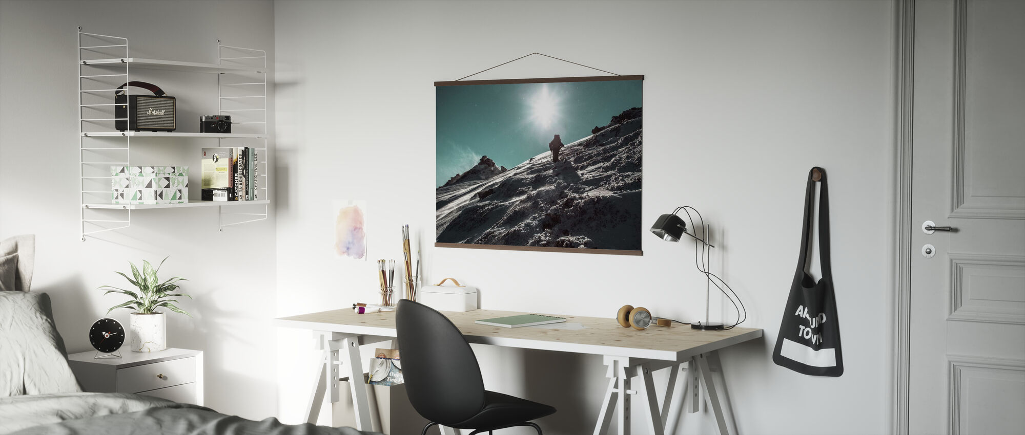 Winter Hike - Poster - Office
