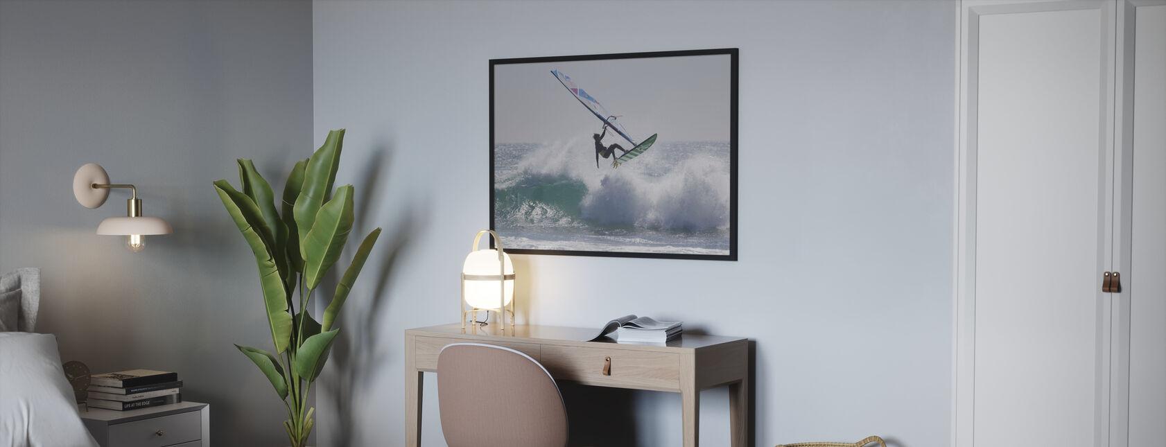 Windsurfing Jump - Poster - Bedroom