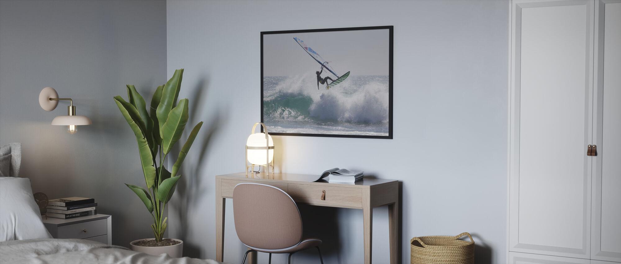 Windsurfen Sprung - Poster - Schlafzimmer