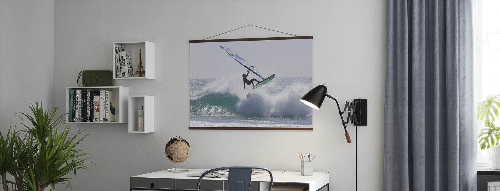 Windsurfing Jump - Poster - Office