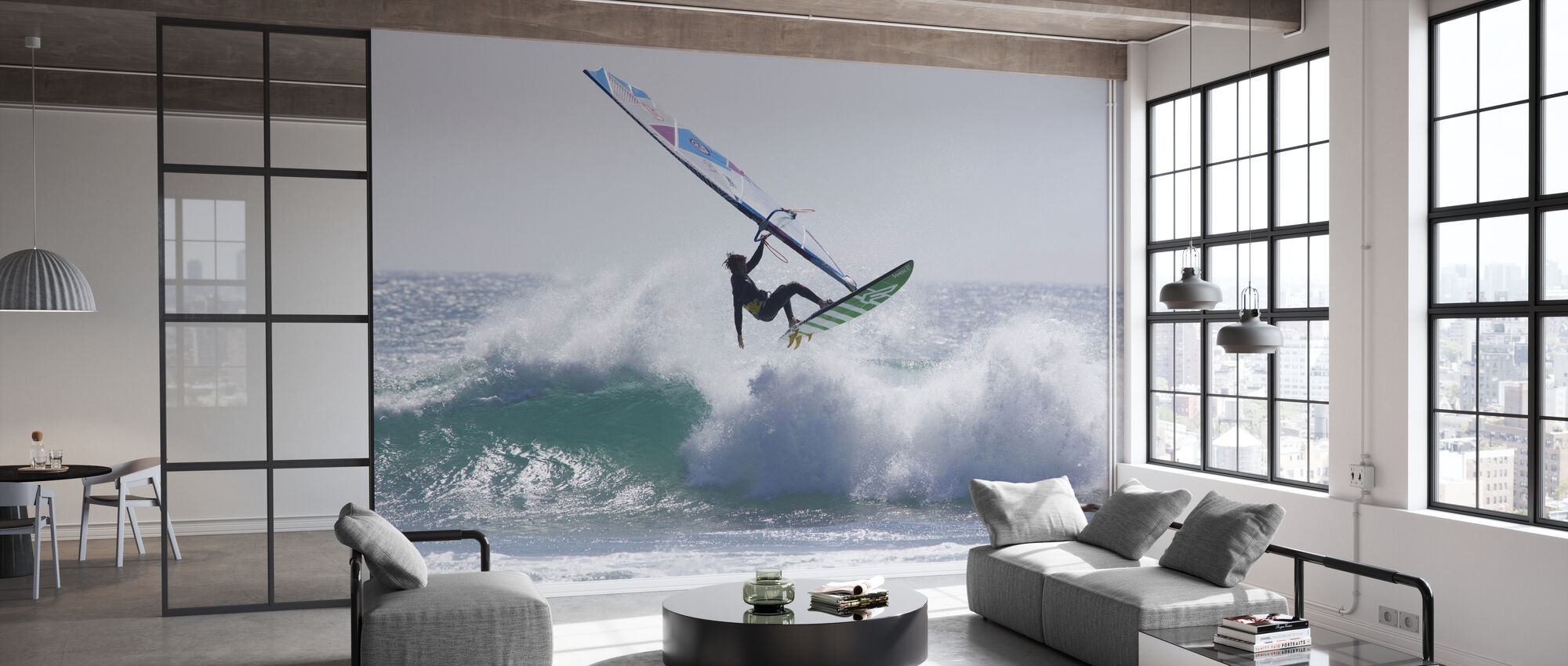 Windsurfen Jump - Behang - Kantoor