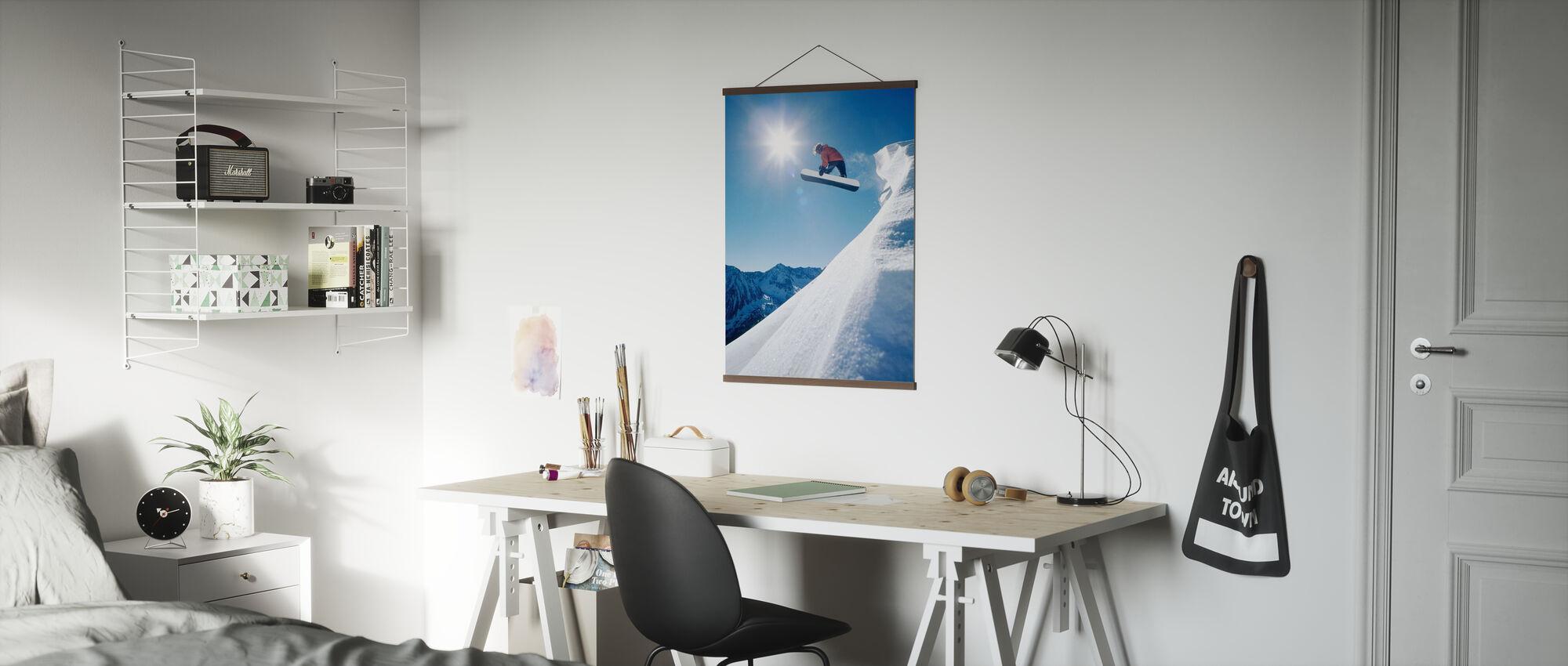 Snowboard Grab - Plakat - Kontor