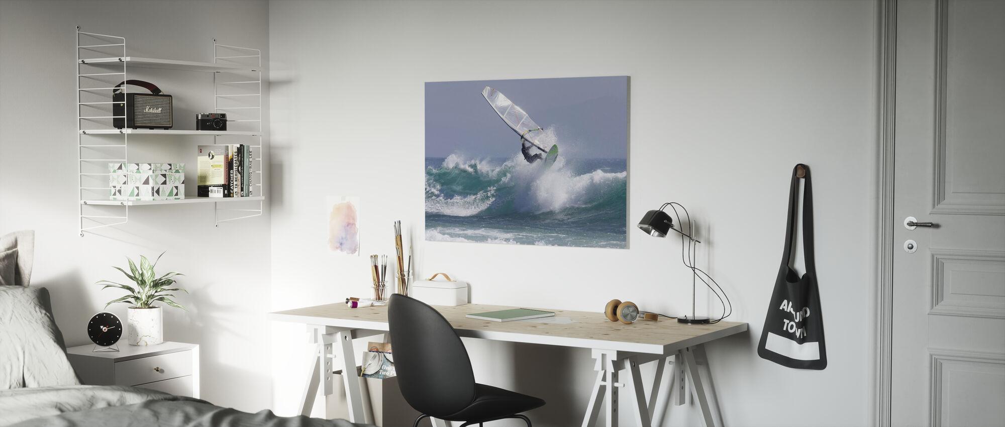 Windsurfing - Canvas print - Kids Room
