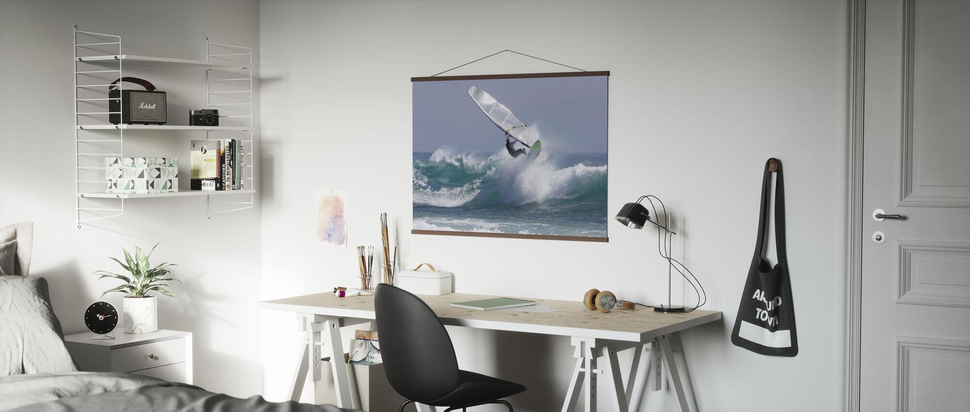 Windsurfen - Poster - Büro