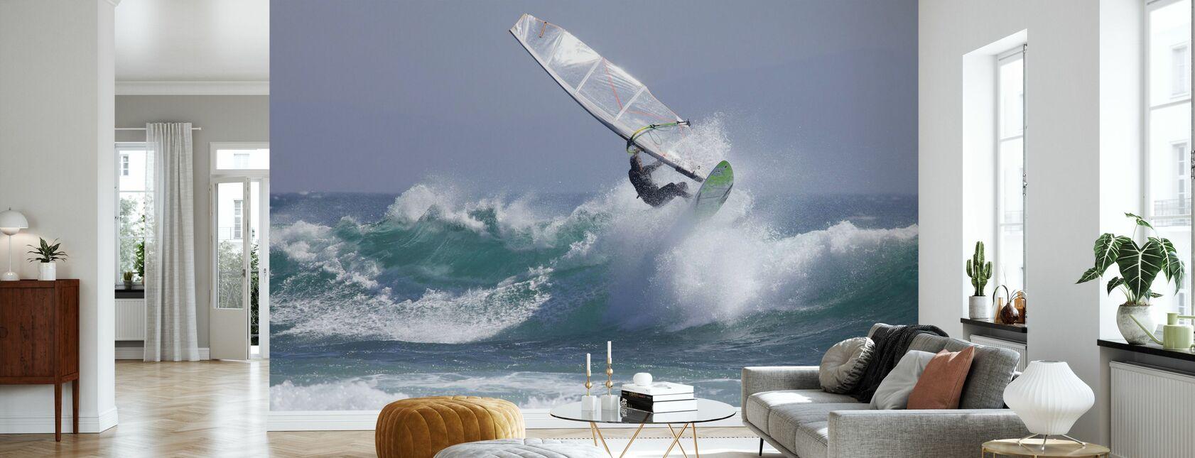 Windsurfen - Tapete - Wohnzimmer
